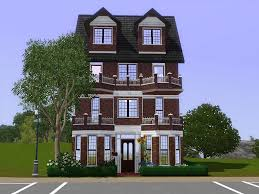 3 story houses mod the sims comfy townhouse a three story house with 2 bedrooms