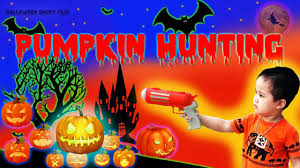 pumpkin hunting halloween children movies funny games and