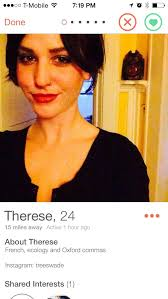 tinder profile oxford comma know your meme