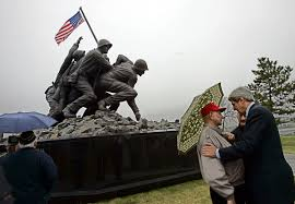 Massachusetts Flag Massachusetts Iwo Jima Memorial Vandalized Again