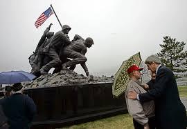 Flag Of Massachusetts Massachusetts Iwo Jima Memorial Vandalized Again