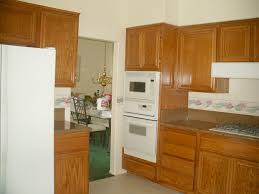 Refinish Oak Kitchen Cabinets by Simple Painting Kitchen Cabinets Veneer How To Paint No With