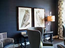 metallic grasscloth wallpaper nice touch for elegant and vintage