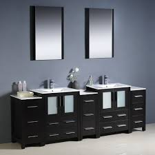 Bathroom Vanity With Side Cabinet Fresca Bath Fvn62 72es Uns Torino 84 Sink Vanity With 3