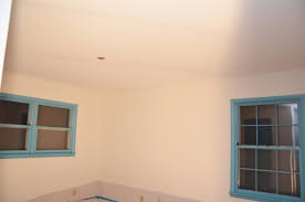 scrape painted popcorn ceilings and baby room update