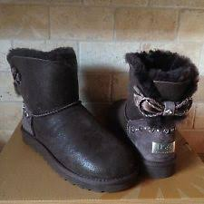 s ugg australia mini bailey bow boots ugg australia mini bailey braid swarovski crystals boots bow