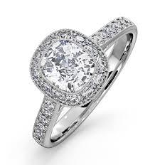 engagement ring uk danielle diamond engagement side ring platinum 1 60ct