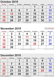 december 2015 calendars for word excel pdf