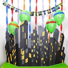 Ninja Turtle Wall Decor Top 10 Diy Tmnt Party Ideas Birthday Express