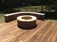 Deck Firepit Pits On Your Wood Deck Absolutely Decking Woods And Backyard