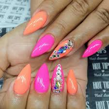 pointed nail art designs and ideas 2017 style you 7 latest