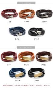 leather ladies bracelet images Outletruckruck rakuten global market choose from two types jpg