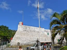 St Thomas Flag Fort Christian Charlotte Amalie St Thomas Cruisebe