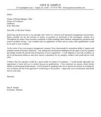 Professional Resume Cover Letter Samples by Examples Of Cover Letters For Resumes Http Www Resumecareer