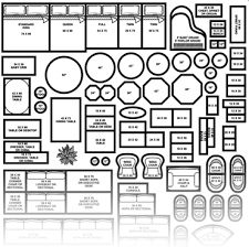 furniture templates for floor plans printable furniture templates 1 4 inch scale build credentials