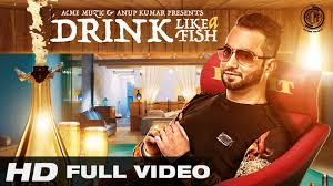 hair style of mg punjabi sinher drink like a fish luv it feat milind gaba full music video