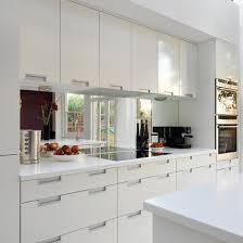 splashback ideas white kitchen real homes modern white kitchen mirror splashback kitchens
