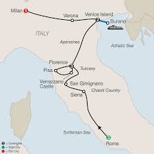 Italy Map Cities Italy Tours Globus Italy Vacation Packages