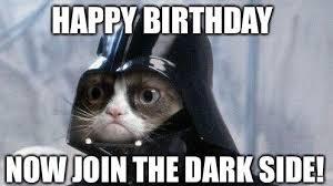 Funny Cat Birthday Meme - fresh grumpy cat happy birthday meme funny cat happy birthday