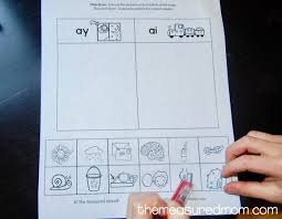 free ay u0026 ai worksheets the measured mom
