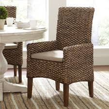 dining room comfortable seagrass counter stools arms design with