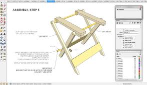 Folding Picnic Table Plans Pdf by Folding Miter Saw Stand Plans