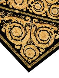 versace barocco rug furniture ves24958 the realreal arafen