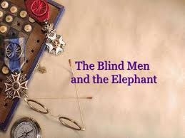 Five Blind Men And The Elephant 1 Analyzing Quantitative Data 2 Things Aren U0027t Always What We