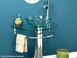 pedestal sink towel bar pedestal sink with towel bar ellenhkorin
