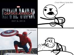 Cereal Man Meme - cereal guy s reaction to mcu spider man by redhunterz on deviantart