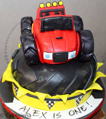 childrens monster truck videos cakes cake factory blaze the monster truck cake