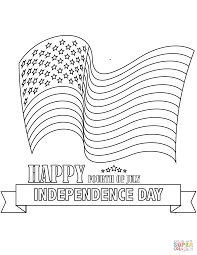 fourth of july big fireworks coloring page free printable