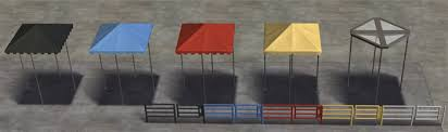 Sims 3 Awning Slig More Ofb Defaults Awnings Paintings Coffins
