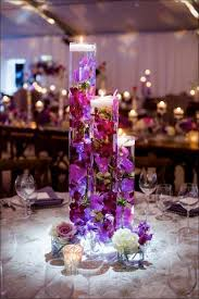 Purple Centerpieces Elliott Events Designs Elliott Events