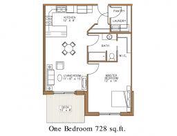 1 Bedroom Floor Plans by Interior Design 15 1 Bedroom Apartment Floor Plans Interior Designs