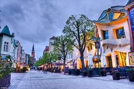 Crooked House Shopping Mad The Crazy U0027crooked House U0027 Polish Mall Inspired By
