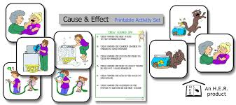 cause and effect printable activity set u2013 home education resources