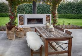 how to build an outdoor stacked stone fireplace how tos diy