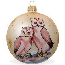 Pottery Barn Christmas Ornaments Ebay by Glass Bird Christmas Ornaments Ebay
