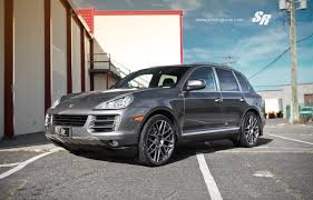 Porsche Cayenne Rims - shades of grey project sr auto porsche cayenne