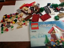 playing with bricks lego 40082 christmas tree stand review