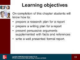 chapter 7 report writing ppt video online download