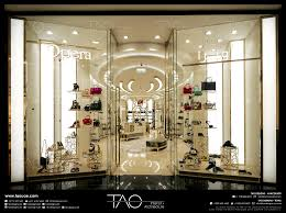 Interior Design Uae Opera Shoes Shop Front In Mall Of Emirates Dubai Uae By Tao
