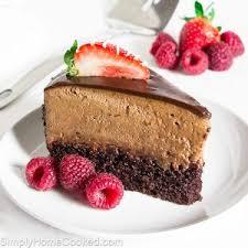 chocolate raspberry mousse cake recipe raspberry mousse