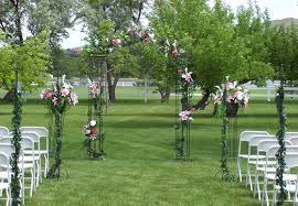 unique backyard wedding ideas wedding garden decoration ideas