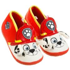 paw patrol boys slippers mens clothing b m