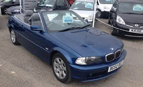 bmw 320ci convertible st ives motor company 2002 52 bmw 320ci convertible automatic