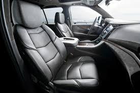 Cadillac Escalade 2014 Interior 2015 Cadillac Escalade Platinum Brings New Crest Emblem 8 Sp Auto