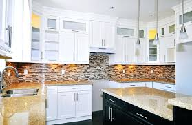 idea for kitchen subway tile backsplash ideas for the kitchen white cabinets