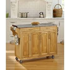 white kitchen island with stainless steel top granite top kitchen cart bloomingcactus in create a cart kitchen